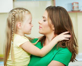 Mother with daughther — Stock Photo