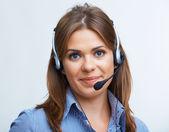 Portrait of business woman — Stock Photo
