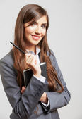Porträtt av affärskvinna — Stockfoto