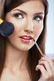 女性顔 — ストック写真