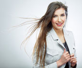 Portrait of business woman — Stock Photo
