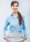 Podnikání žena portrét — Stock fotografie