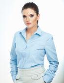Retrato de mulher de negócios — Fotografia Stock