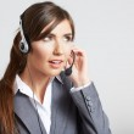 Female operator — Stock Photo #36580855