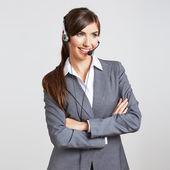 Trabajador de servicio al cliente — Foto de Stock