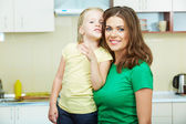 Moeder met daughther — Stockfoto