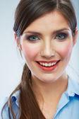 ビジネスの女性の肖像画 — ストック写真