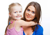 Mother and girl — Stock Photo