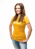 Young casual woman style — Stock Photo