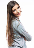Young woman casual portrait — Stock Photo