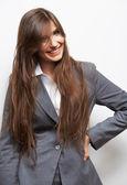 Retrato de mujer de negocios — Foto de Stock