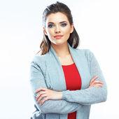 Portret van vrouw — Stockfoto
