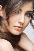 Beauty woman portrait. — Stock Photo