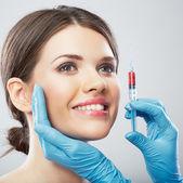 Mujer y cirugía — Foto de Stock