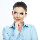 Porträt von business-frau — Stockfoto