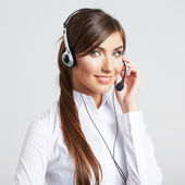 Customer service worker — Stock Photo