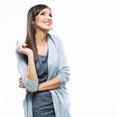 Retrato de mulher de negócios — Foto Stock