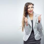 Portrait de femme d'affaires — Photo