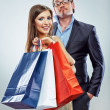 Shopping couple — Stock Photo #38970011