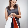 Woman hold shopping bag — Stock Photo #39147707