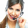 Foto Stock: Customer support operator
