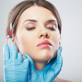 Beauty Woman face surgery — Foto de Stock