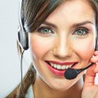 Customer support operator. — Stock Photo