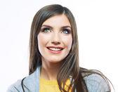 Smiling happy woman portrait — Foto de Stock