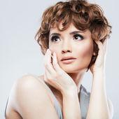 Beauty woman portrait . — Foto de Stock