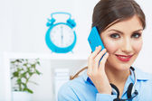 Business woman office — Stock Photo
