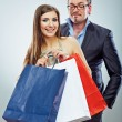 Shopping couple — Stock Photo #39787857