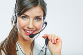 Kunden-support-betreiber. — Stockfoto