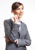бизнес женский портрет — Стоковое фото