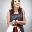 Business woman with Shopping bag — Stock Photo #40065433