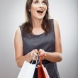 Woman hold shopping bag — Stock Photo #40065439