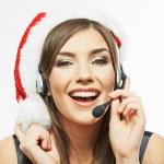 Christmas Santa woman — Stock Photo #40065629