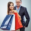 Shopping couple — Stock Photo #40340449