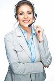 Customer service worker — Stock Photo