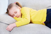 Ragazza addormentata — Foto Stock