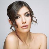Beautiful woman portrait . — Fotografia Stock