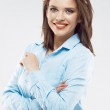 Business woman with crossed arms — Stock Photo #48311345