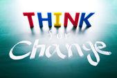 Creo que por concepto de cambio — Foto de Stock