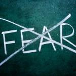 Постер, плакат: No fear concept