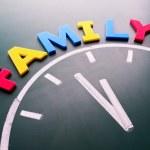 czas dla rodziny koncepcja — Zdjęcie stockowe