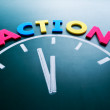 Time to action concept — Stock Photo