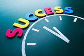 Time to success concept — Stock Photo