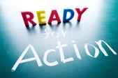 Listos para la acción — Foto de Stock