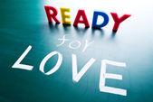 готов к любви — Стоковое фото