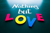 Nothing but love — Stock Photo
