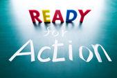 Pronto all'azione — Foto Stock